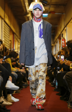 VETEMENTS MENSWEAR FALL WINTER 2018 PARIS23