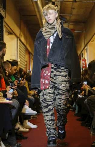 VETEMENTS MENSWEAR FALL WINTER 2018 PARIS25