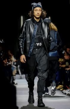 Y-3 MENSWEAR FALL WINTER 2018 PARIS34