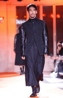 YOHJI YAMAMOTO MENSWEAR FALL WINTER 2018 PARIS15
