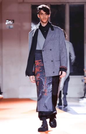 YOHJI YAMAMOTO MENSWEAR FALL WINTER 2018 PARIS18