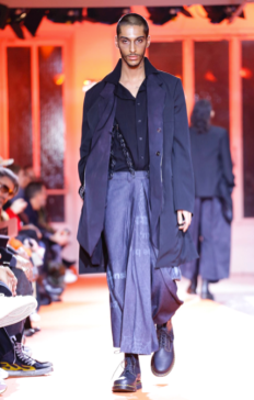 YOHJI YAMAMOTO MENSWEAR FALL WINTER 2018 PARIS21