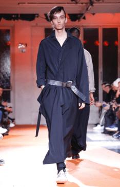 YOHJI YAMAMOTO MENSWEAR FALL WINTER 2018 PARIS24
