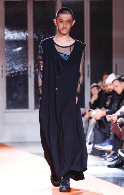 YOHJI YAMAMOTO MENSWEAR FALL WINTER 2018 PARIS26