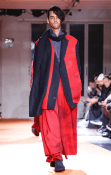 YOHJI YAMAMOTO MENSWEAR FALL WINTER 2018 PARIS27
