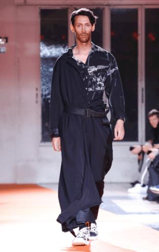 YOHJI YAMAMOTO MENSWEAR FALL WINTER 2018 PARIS31
