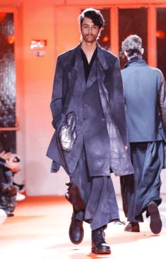 YOHJI YAMAMOTO MENSWEAR FALL WINTER 2018 PARIS37