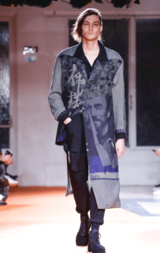 YOHJI YAMAMOTO MENSWEAR FALL WINTER 2018 PARIS4