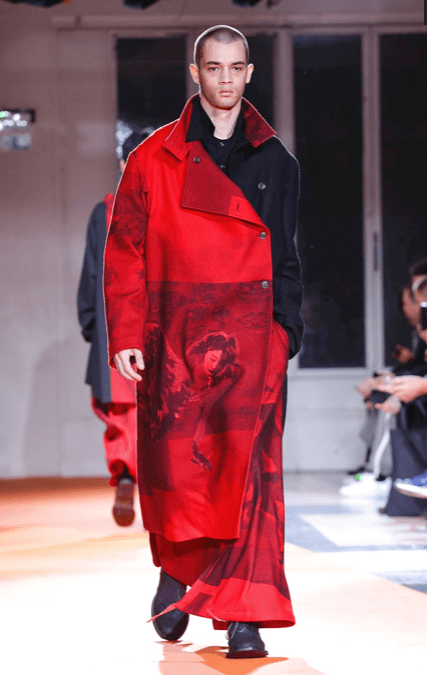 YOHJI YAMAMOTO MENSWEAR FALL WINTER 2018 PARIS41