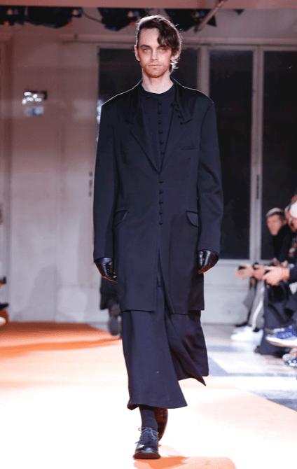 YOHJI YAMAMOTO MENSWEAR FALL WINTER 2018 PARIS42