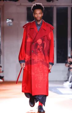 YOHJI YAMAMOTO MENSWEAR FALL WINTER 2018 PARIS7