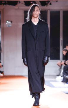 YOHJI YAMAMOTO MENSWEAR FALL WINTER 2018 PARIS9