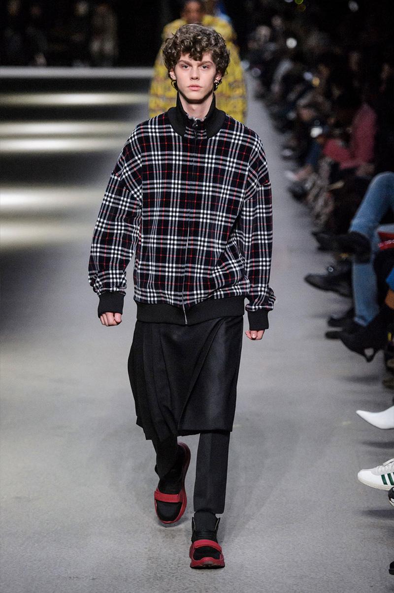 Burberry Men's Fall Winter 2018