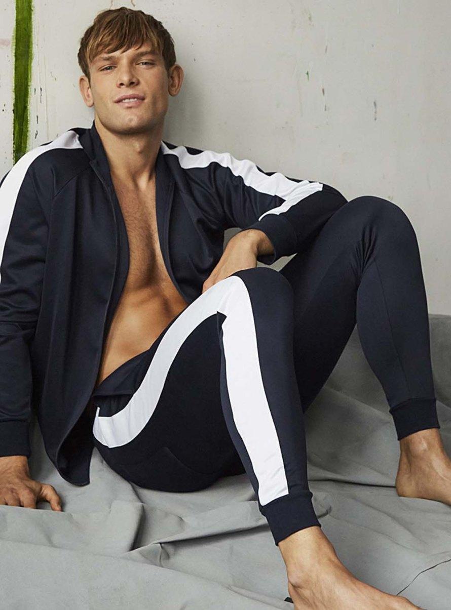 Model Elliott Reeder for SIMONS Homme Underwear ...