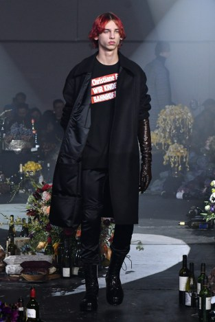 Raf Simons Men's Fall 2018