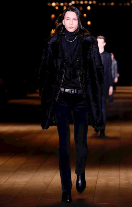 SAINT LAURENT READY TO WEAR FALL WINTER 2018 PARIS21