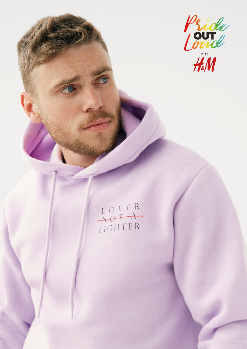 H&M Launches First Pride Collection Featuring Kim Petras, Shaun Ross and Aja
