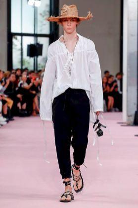 Ann Demeulemeester Menswear Spring Summer 2019 Paris1