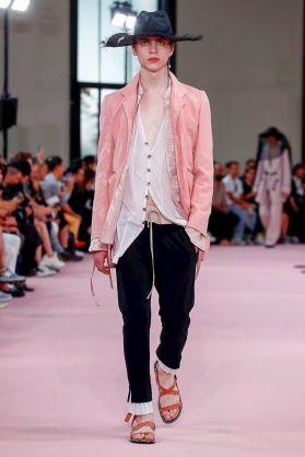 Ann Demeulemeester Menswear Spring Summer 2019 Paris10