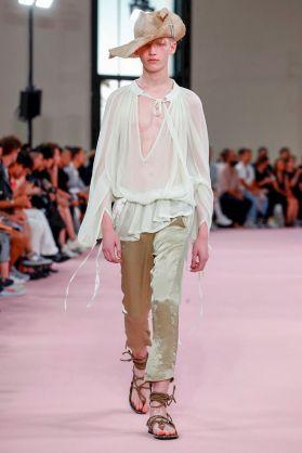 Ann Demeulemeester Menswear Spring Summer 2019 Paris13