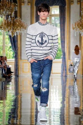 Balmain Homme Menswear Spring Summer 2019 Paris10