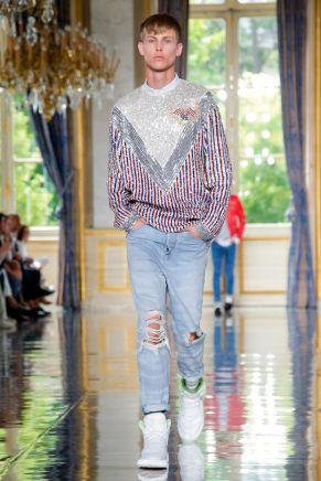 Balmain Homme Menswear Spring Summer 2019 Paris2