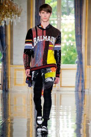 Balmain Homme Menswear Spring Summer 2019 Paris43