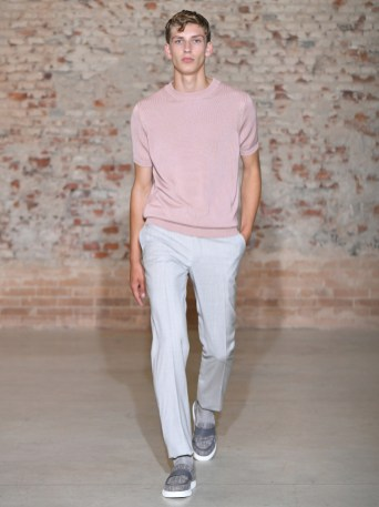 Canali Men's Spring 2019