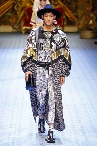 Dolce & Gabbana Spring Summer 2019 Milan74