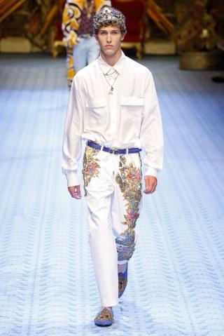 Dolce & Gabbana Spring Summer 2019 Milan98