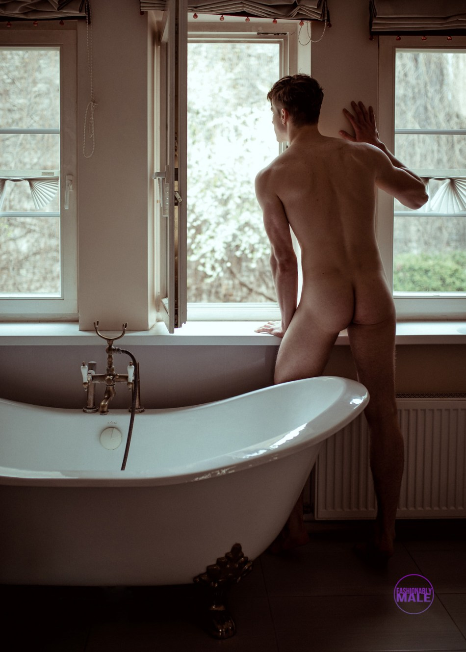 Photographer Dmitry Zemenkov Shares Intimate Portrait with Edvinas Pètra