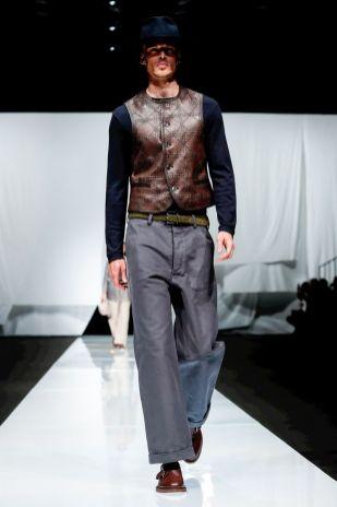 Giorgio Armani Menswear Spring Summer 2019 Milan1