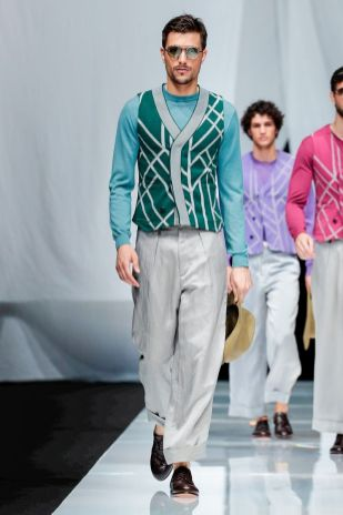Giorgio Armani Menswear Spring Summer 2019 Milan53