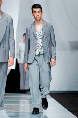 Giorgio Armani Menswear Spring Summer 2019 Milan65