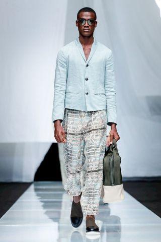 Giorgio Armani Menswear Spring Summer 2019 Milan74
