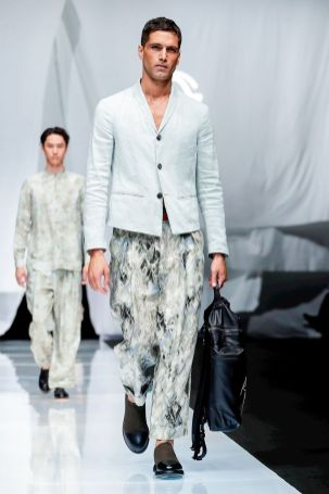 Giorgio Armani Menswear Spring Summer 2019 Milan76