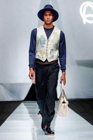 Giorgio Armani Menswear Spring Summer 2019 Milan78