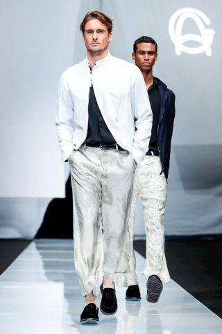 Giorgio Armani Menswear Spring Summer 2019 Milan81