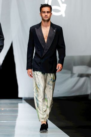 Giorgio Armani Menswear Spring Summer 2019 Milan84