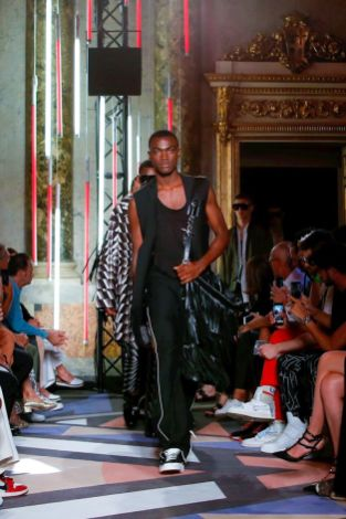 Les Hommes Menswear Spring Summer 2019 Milan33