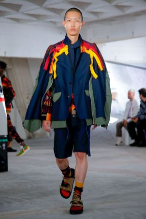 Sacai Menswear Spring Summer 2019 Paris43