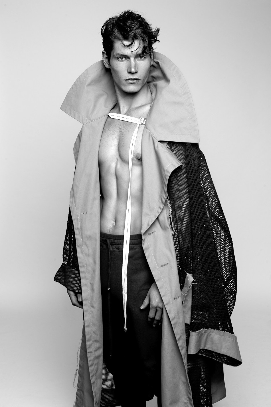 Model & Singer Sam Way in fashionable edit for Essential Homme
