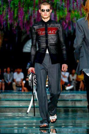Versace Menswear Spring Summer 2019 Milan1
