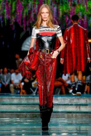 Versace Menswear Spring Summer 2019 Milan14