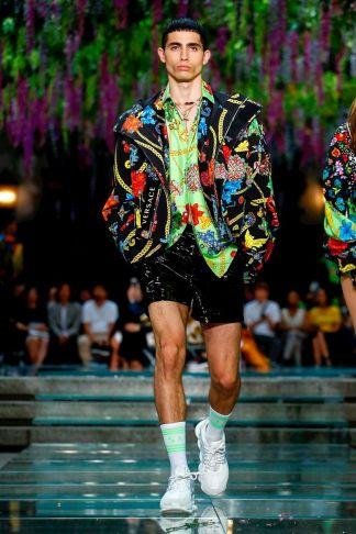Versace Menswear Spring Summer 2019 Milan50