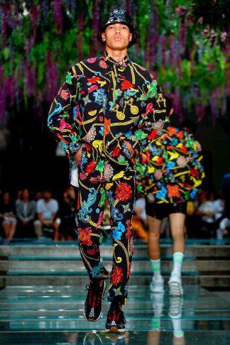 Versace Menswear Spring Summer 2019 Milan52