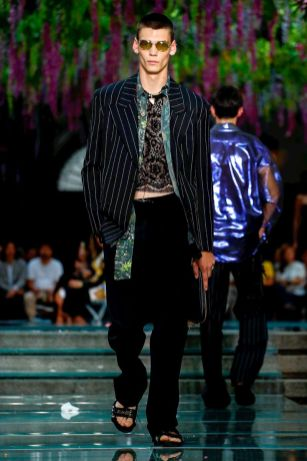 Versace Menswear Spring Summer 2019 Milan55