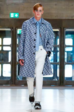 Xander Zhou Menswear Spring Summer 2019 London1