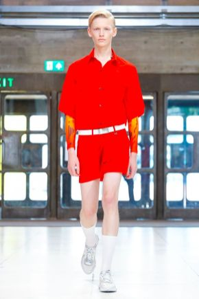 Xander Zhou Menswear Spring Summer 2019 London22