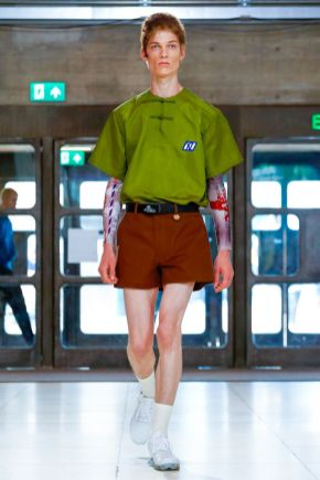 Xander Zhou Menswear Spring Summer 2019 London24